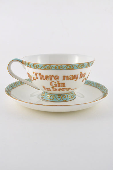 Gin Teacup ( low pedestal)