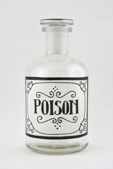 Poison Apothecary Bottle