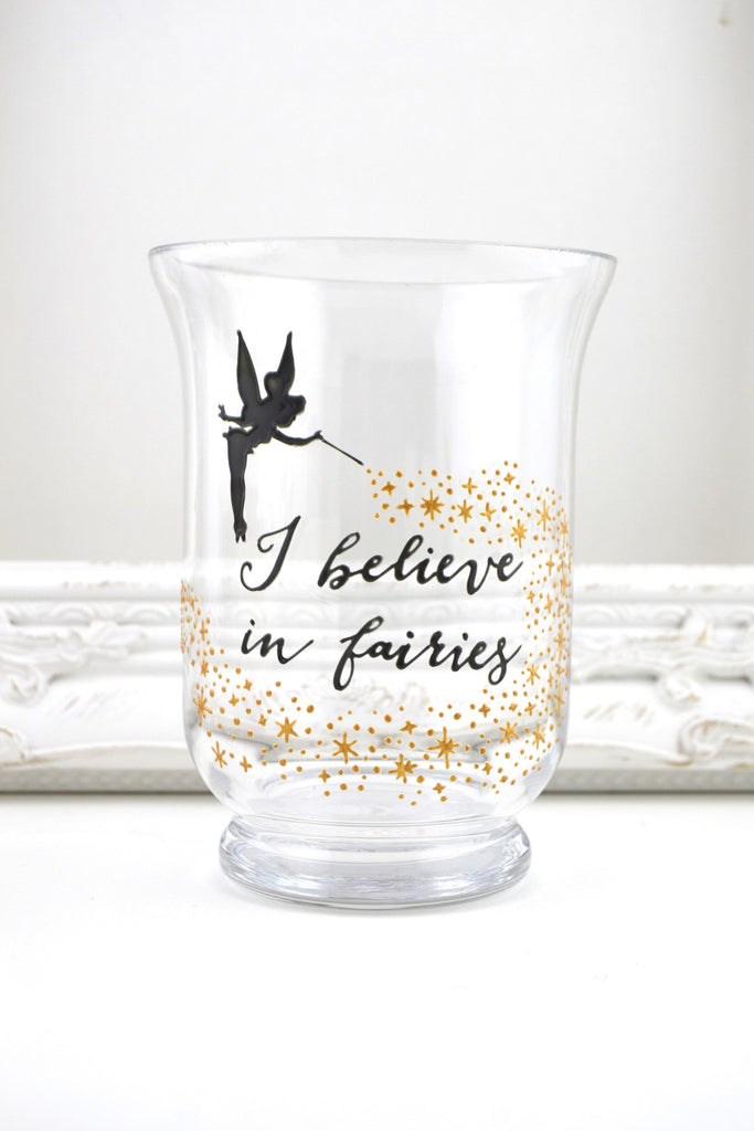 I Believe in Fairies Candle Jar
