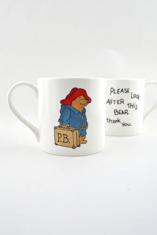 Paddington Bear Bone China Mug