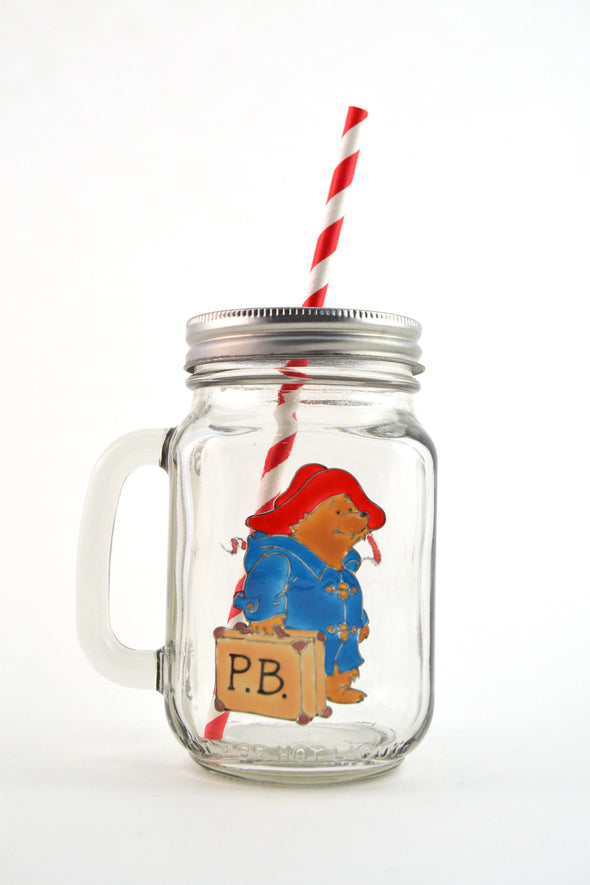 Paddington Drinking Jar