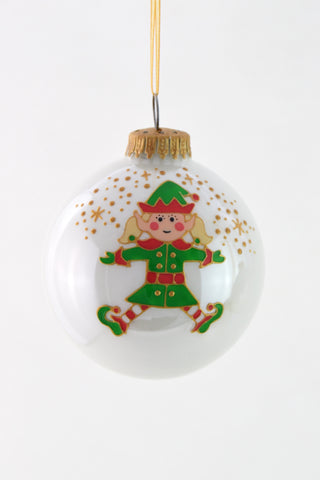 Elf Girl Bauble