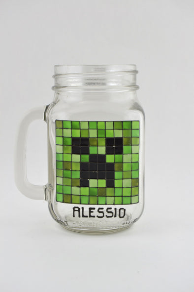 Minecraft Drinking Jar
