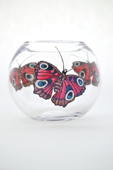 Peacock Butterfly Tea Light Holder