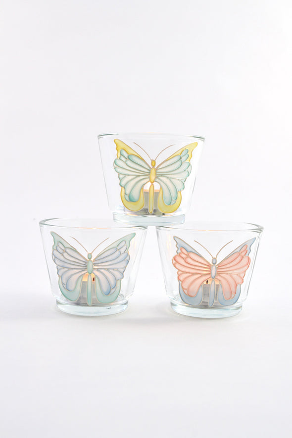 Set of 3 Tea Light Holders