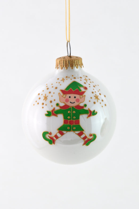 Elf Boy Bauble