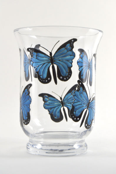 Blue Morpho Candle Jar