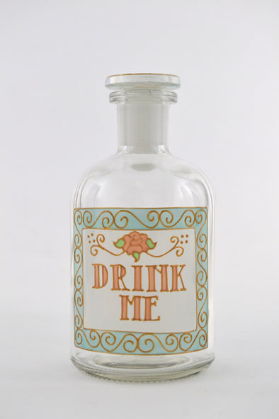 Drink Me Apothecary Bottle