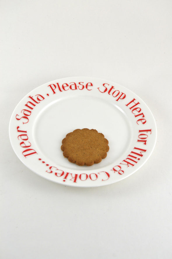 Dear Santa... Fine Bone China Plate