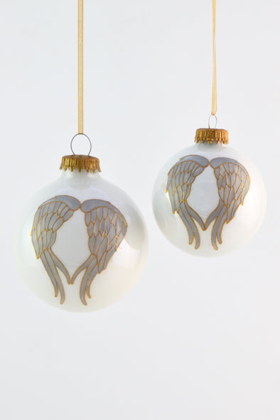 Angel Wings Bauble (Gold)
