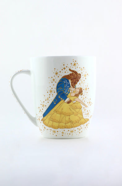 Beauty and the Beast Bone China Mug