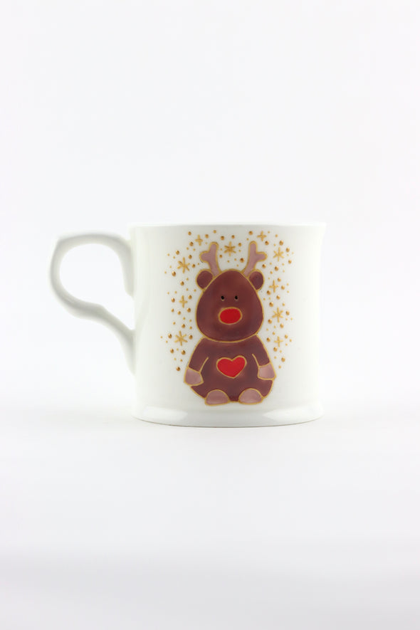 Personalised Reindeer Cup