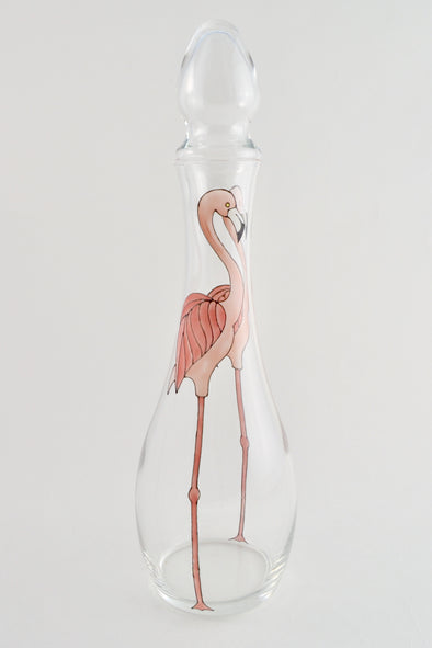 Flamingo Decanter