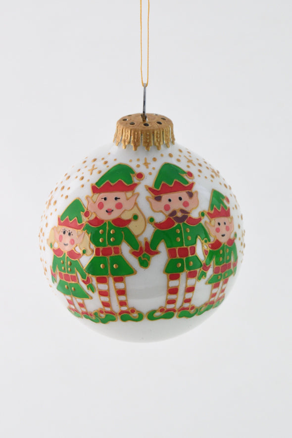 Elf Family Bauble