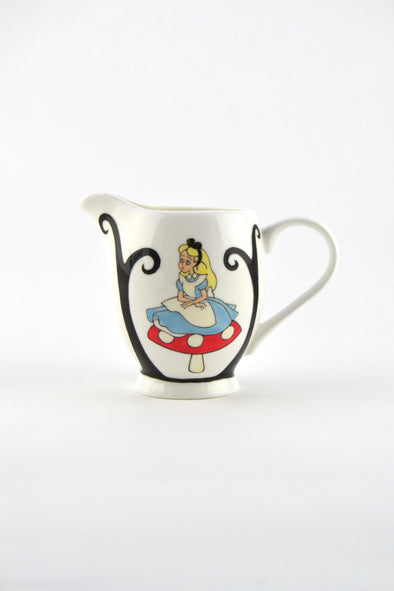 Alice in Wonderland Milk Jug