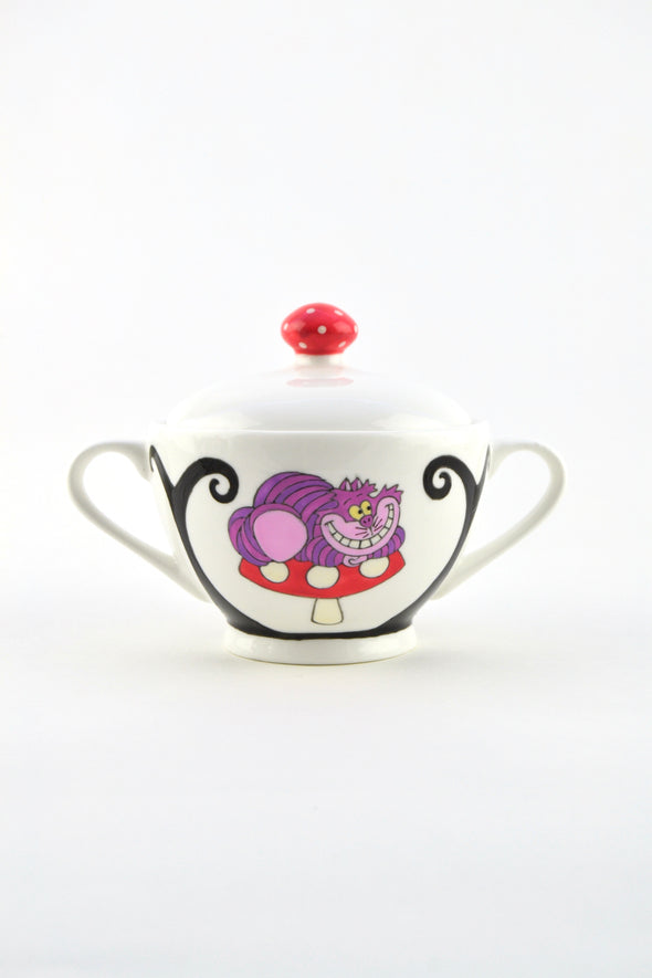 Alice in Wonderland Sugar Bowl