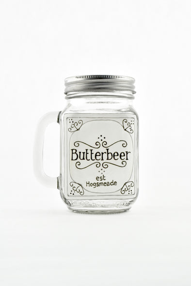 Butterbeer Drinking Jar