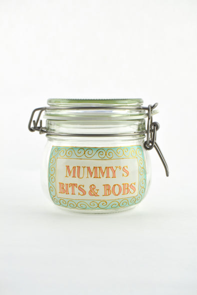 Mummy's Bits and Bobs Jar