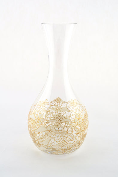 White Lace Carafe