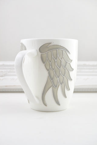 Angel Wings Fine Bone China Mug