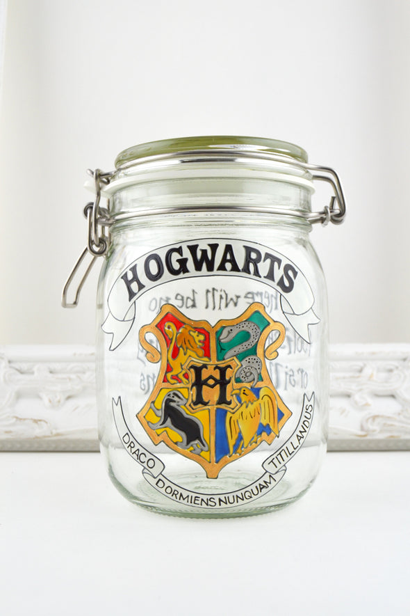 Hogwarts Storage Jar