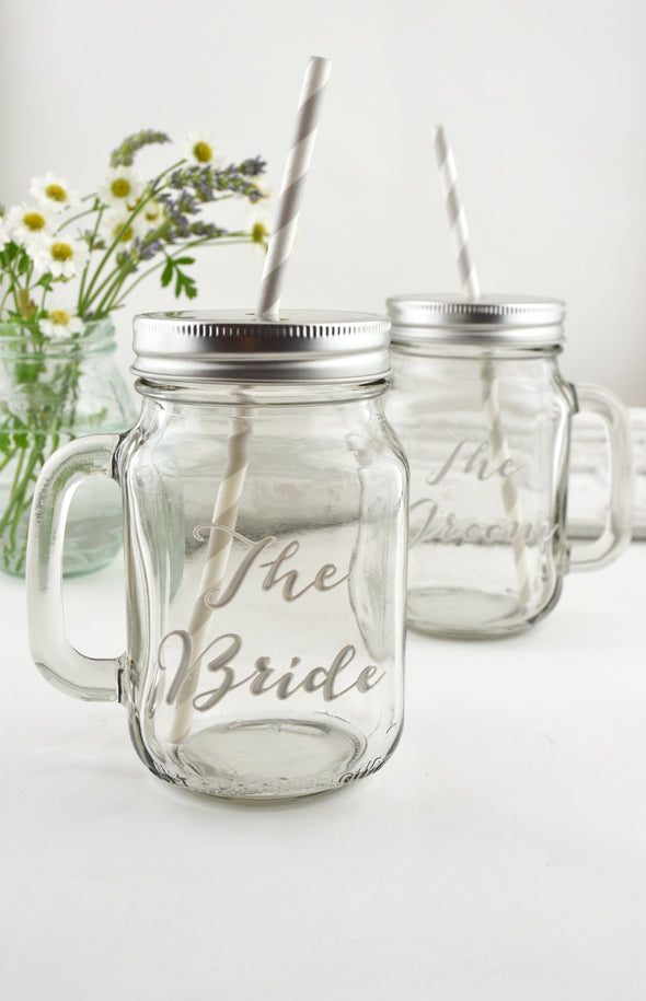 Personalised Drinking Jar