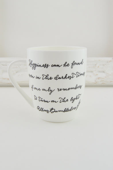 Dumbledore Quote Mug