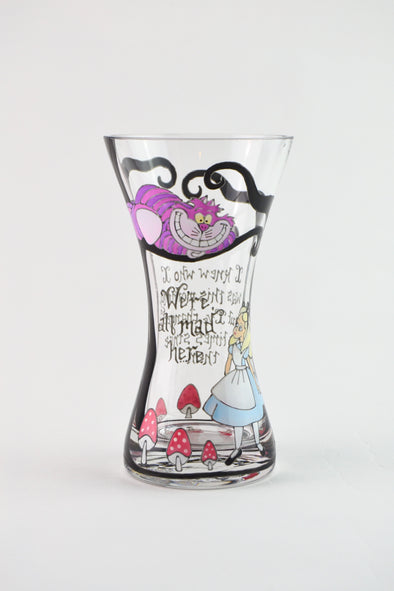 Alice in Wonderland Posy Vase
