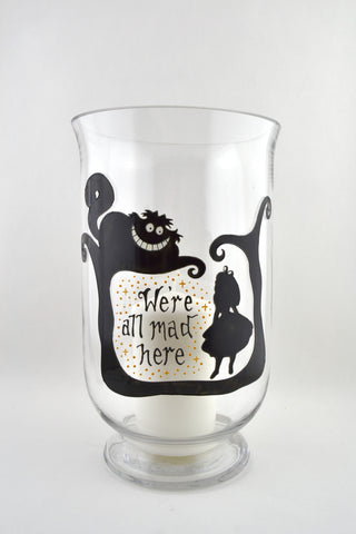 Alice in Wonderland Candle Jar Lge