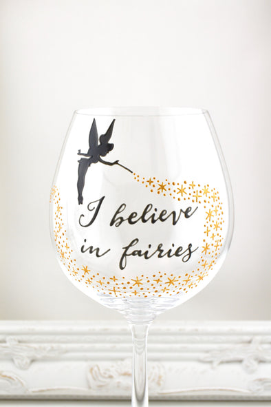 I Believe in Fairies Goblet