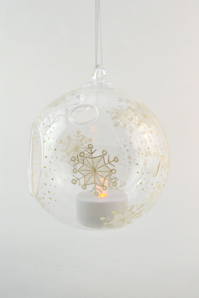 Snowflake Tealight Bauble