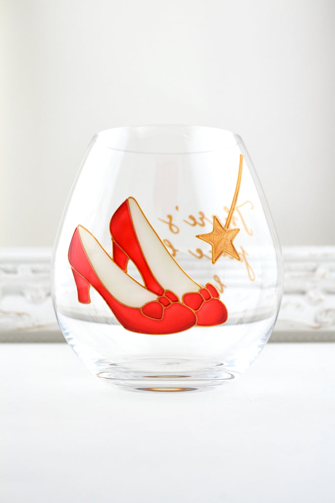 Ruby Slippers Crystal Tumbler