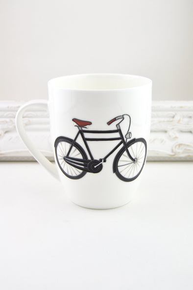 Bicycle Fine Bone China Mug