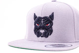 Pitbull Labs Snap-Back Hat (Gray)