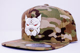 Pitbull Labs Snap-Back Hat (Camo)