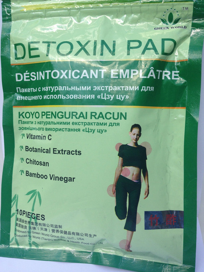 Magic Detoxin Pad Green World - Green World Products Shop