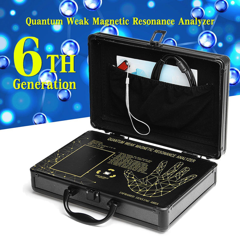 Hand Scan Quantum Magnetic Resonance - Green World Products Shop