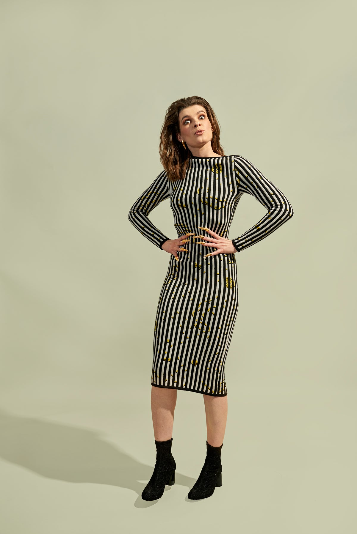 Lady Stripe Dress