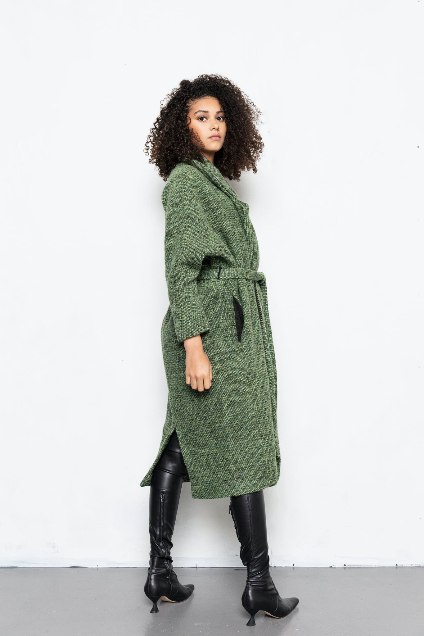 MARGOT COAT / MOSS