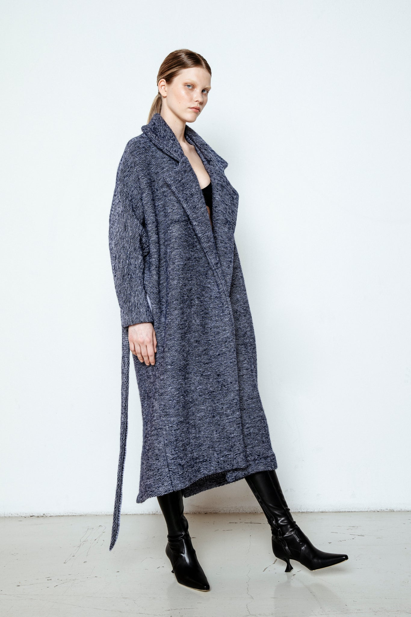 MARGOT COAT / BLUEBERRY