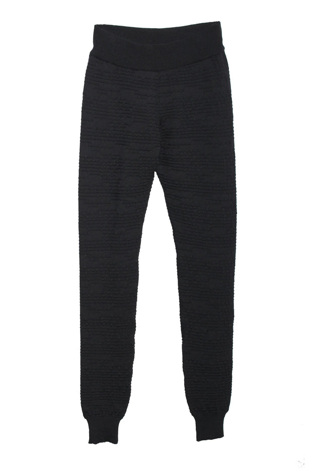 BAHNS - black merino leggings/hikingpants