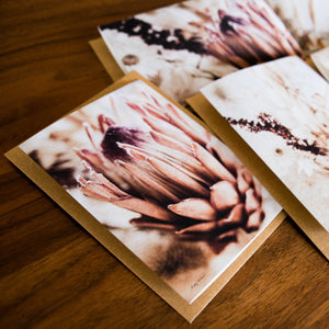 Dried Blooms Card Set