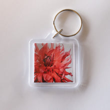 Load image into Gallery viewer, Dahlia Fire Key Ring