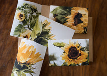 Load image into Gallery viewer, Sunflower Card Set