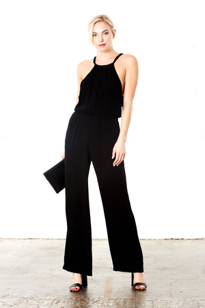 Ann Jumpsuit in Black
