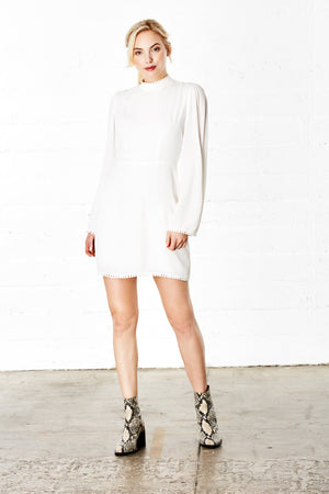Evans Dress in Ivory