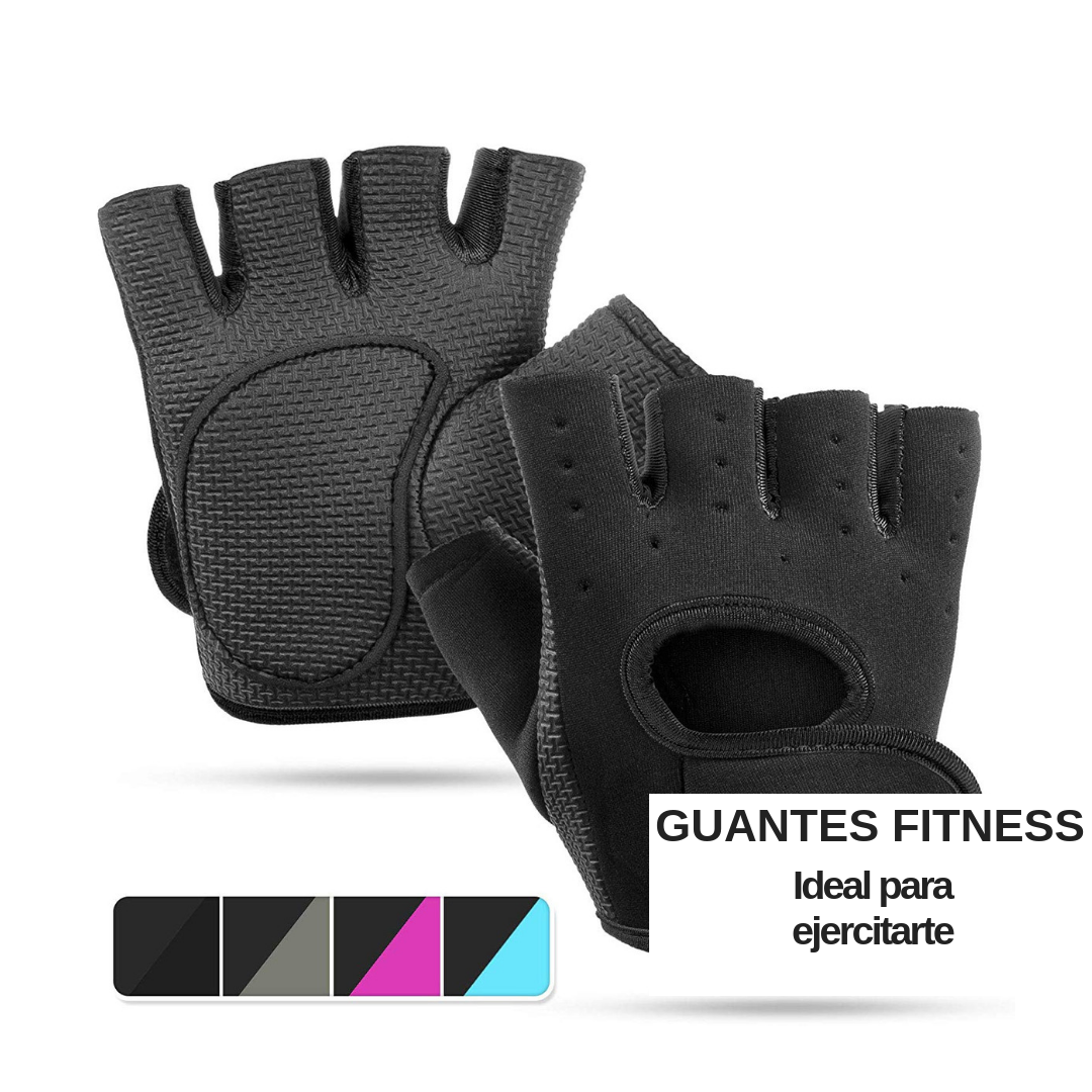Guantes fitness ideal para Gym, Crossfit, Ciclismo, Ejercitarte, ect