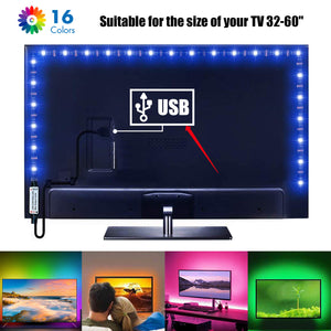 Tiras LED RGB USB, ideal para TV