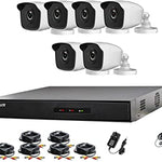KIT de 8 Camaras de seguridad + DVR + Cables + Mouse CCTV