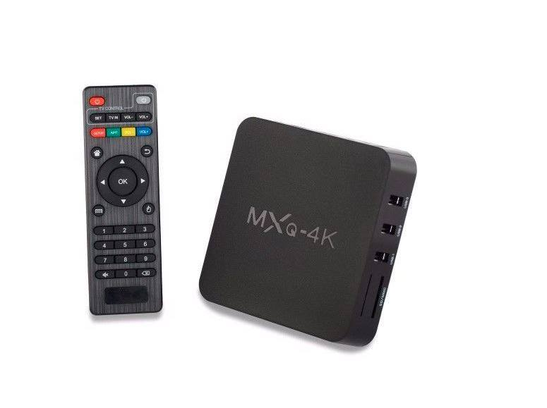 TV BOX MXQ-4K convierte tu TV en smart TV
